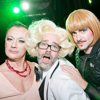 Catastrophic Theatre Drag Ball 2015 Michel Muylle, Michael Pearce, Fritz McDonald