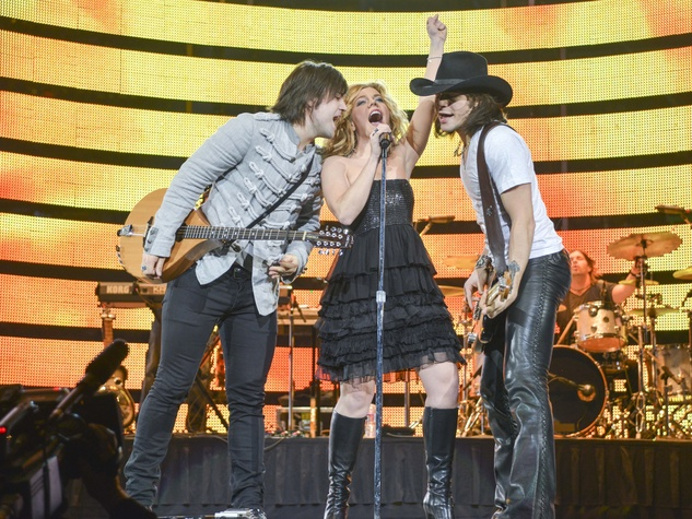 The Band Perry rodeo