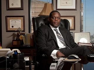 Dallas district attorney Craig Watkins