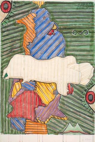 Jasper Johns, Untitled, 1990