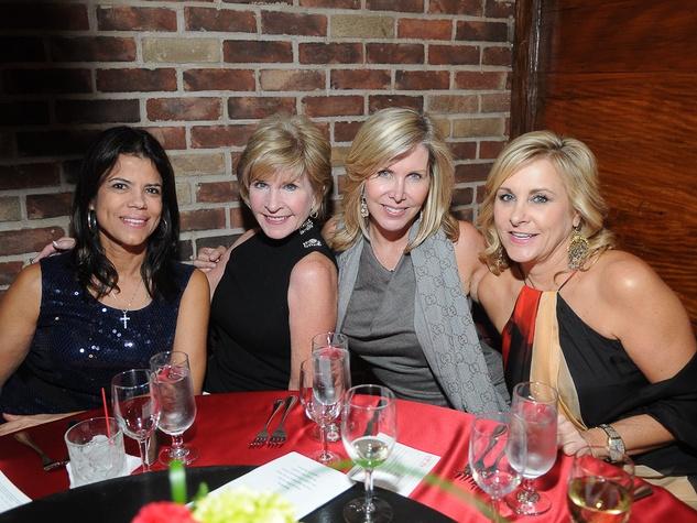 6198, Joyful Toyful at Gigi's, December 2012, Selma Kehoe, B.J. Dauterive, Amy Robinette, Cathy Freeman
