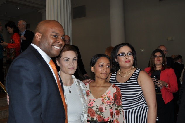 News, Mayor Annise Parker wedding reception, Jovon Tyler, Daniela Parker, Marquitta Parker, Sheri, March 2014