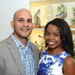 Alex Flores and Milisa Alexis at the Rienzi Punch Party October 2014