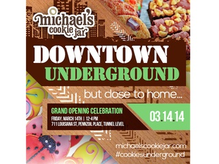 Grand Opening of Michael's Cookie Jar Downtown benefiting Star of Hope