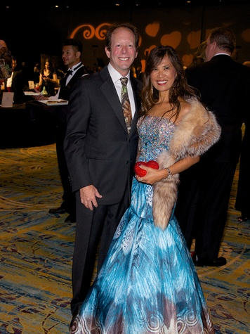Soly and Dr. Bruce Lachterman at the Montgomery County Heart Ball March 2014