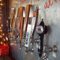Wall tap at Zio Carlo Magnolia Brew Pub in Fort Worth