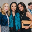 11 Kristen Cannon, from left, Miya Shay and Hasti Taghi at the Amir Taghi launch May 2014.