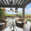 14 On the Market 21 Briar Hollow 802 penthouse with rooftop garden June 2014 terrace