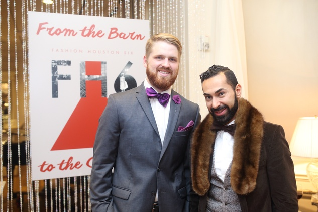 1388 Ben Farmer, left, and Fadi Amarnious at the Sire Under the Stars event March 2015