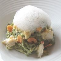 innovative restaurant dishes June 2013 Triniti Kale Carbonara