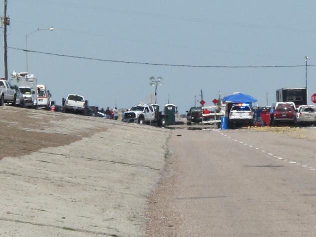 23. Katie Oxford Galveston oil spill March 2014 Final shot. Beyond the Blockade