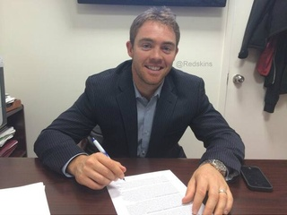 Colt Mccoy washington redskins signing
