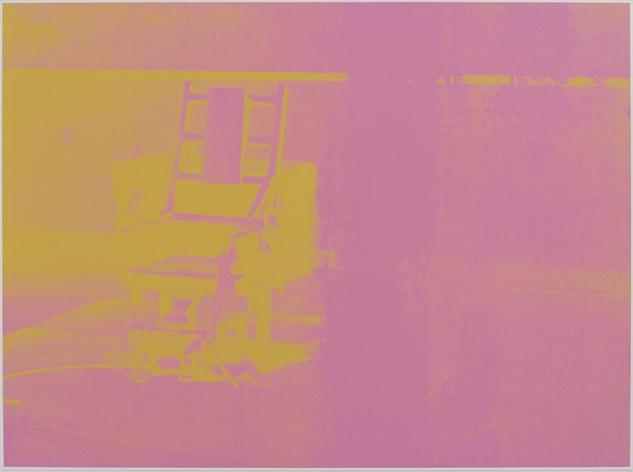 Andy Warhol Electric Chair (Portfolio)