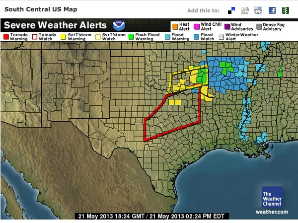 dallas-fort worth braces for severe weather