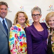 The Council Spring Luncheon April 2013 Kevin Quizenberry, Liz Quizenberry, Jamie Lee Curtis, June Waggoner