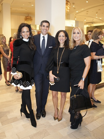 Moll Anderson, Jim Gold, Liz Radler, Catherine Bloom, Alexander McQueen, Crystal Charity Ball