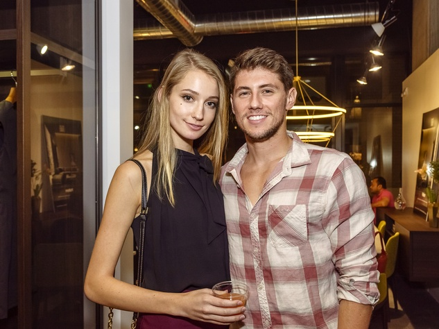 Houston, Mimosa Terrace launch event, Nov 2016, Sarah Tierney, Tyler Kole