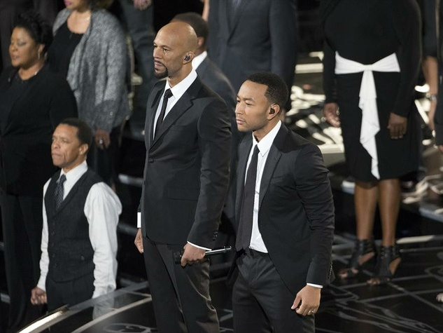 Common and John Legend at the 2015 Academy Awards
