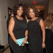 0052 Gail Brown, left, and Deborah Duncan at the Pet Set Soiree September 2014