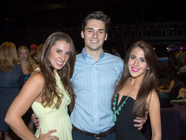 Taylor Werthen, Michael Trecha, Hayley Cordaro