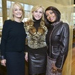 6 Sally Salners, from left, Susanne Denley Bryan and Lora Clemmons at the Petra Nemcova luncheon December 2013
