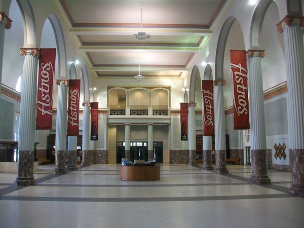 Minute Maid Park, Union Station Lobby, Astros