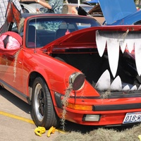 National Museum of Funeral History presents Easter-ween Classic Car Show