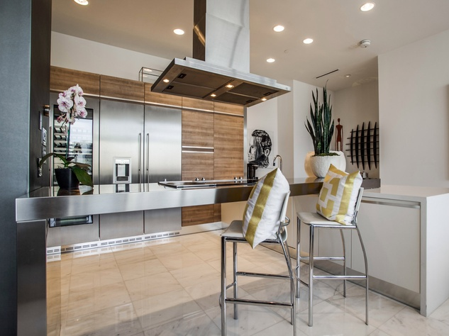 Kitchen at house in Dallas