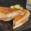 Cubano sandwich at Latin Pig restaurant in Plano