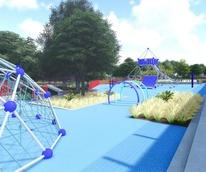 Boy & Girls Club Landscape Concept 4