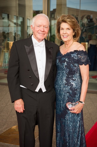 2387 Thurmon and Lilly Andress at the Houston Symphony Centennial Ball May 2014