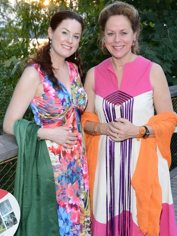 Hilary L. Roberts, Mary Huffines, Rory Meyers Children's Adventure Garden Gala