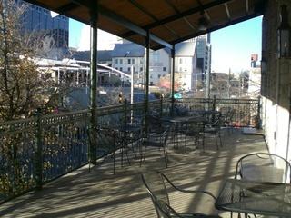 Austin Photo: Places_Bar_paradise_cafe_balcony