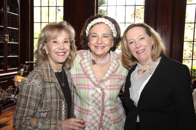 Geri Noel, Joanne Crassas, Susan Bischoff, Crohn's & Colitis luncheon, March 2014