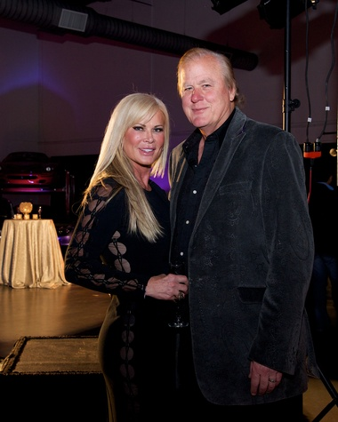 Theresa Roemer and Lamar Roemer at Fashion Woodlands preview party