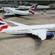 British Airways London airplane