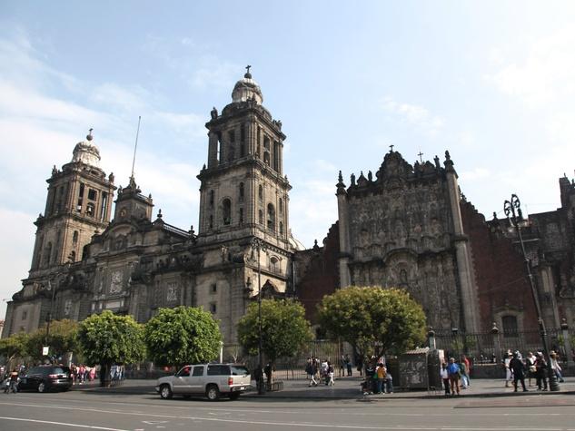 Catedral Metropolitana, Zocalo, Mexico City, July 2012