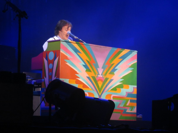 Paul McCartney concert, November 2012