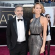 George Clooney, Stacy Keibler, Academy Awards