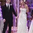 Wonderful Weddings, Courtney Zubowski, March 2013, bride, groom, in chairs