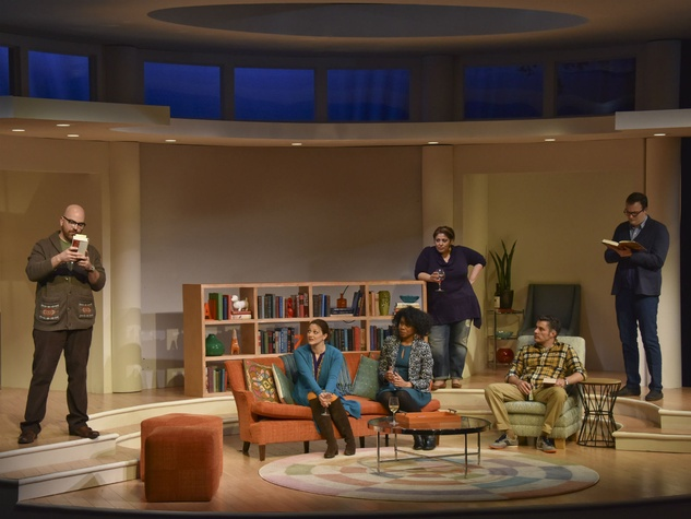 Cast of The Book Club Play from Dallas Theater Center