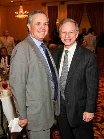 News_Children&#39;s Defense Fund luncheon_May 2012_Gasper Mir_Kenny Friedman