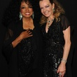 Diana Ross and Caroline Scheufele at Chopard party in Cannes