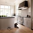 Houzz farmhouse kitchen shaker cabinets