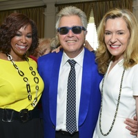 Deborah Duncan, from left, Steve Tyrell and Katie Brass at the On the Move luncheon March 2014