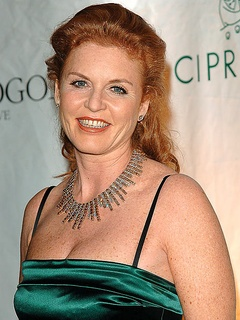 News_Sarah Ferguson_Duchess of York_green gown