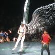 Justin Bieber, Believe Tour, angel wings