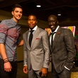54 1473 at Chandler Parsons, Antwaun Molden, Abe Ndoye Chandler Parsons' birthday at Mr. Peeples October 2013