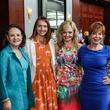 Nancy Walker, from left, Holly Walker, Ashley Petersen and Jo Ann Petersen at Boys & Girls Harbor luncheon April 2014