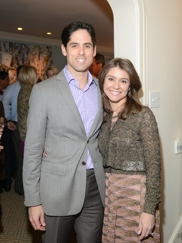 Jason and Rachael Volz at the JDRF gala kick-off party January 2014